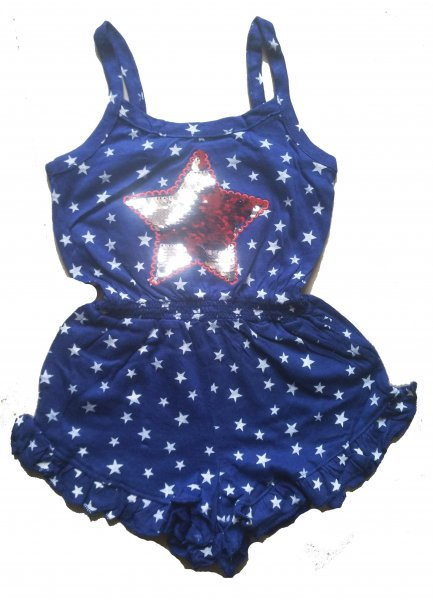 Sequin Star Playsuit