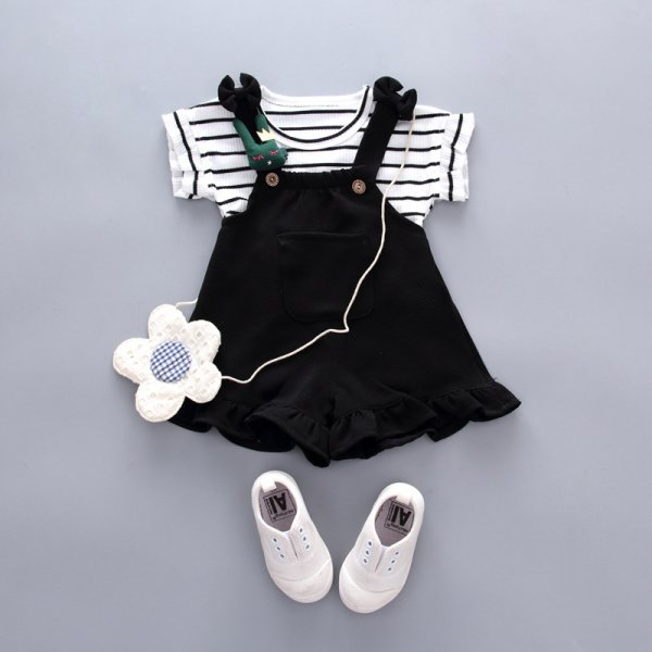 Smart Black And White dress