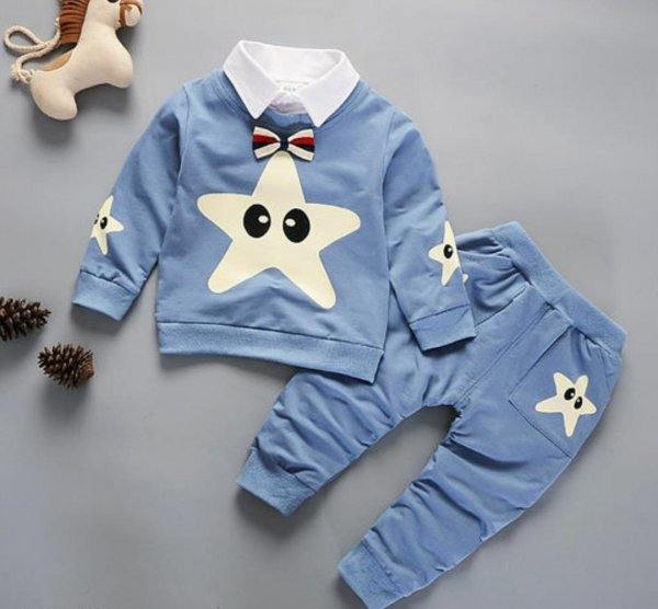 Star Print Boys Set