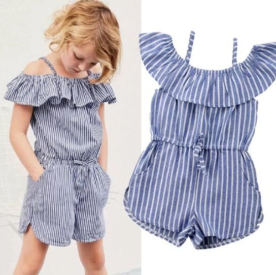 Stripped Play Suit