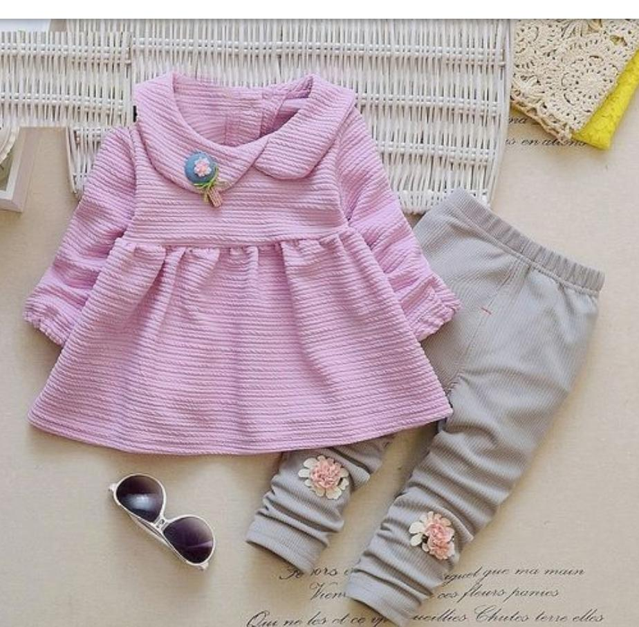 Stylish Lavender Set For Girls