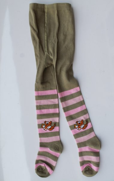 Striped Pantyhose Stockings for Baby Girls