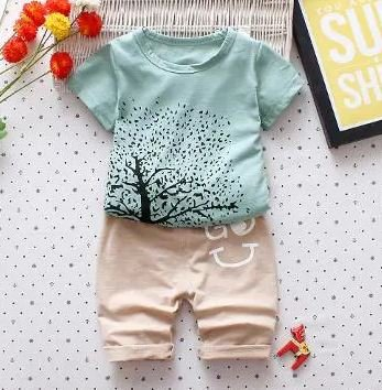 Tree Print Casual Set