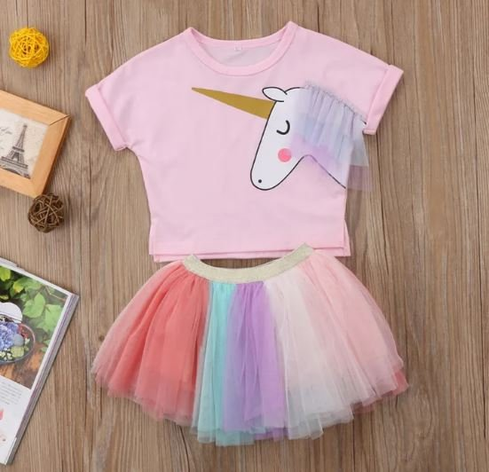 Unicorn Multicolored Set
