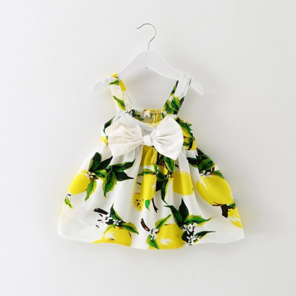 Yellow Bow Frock