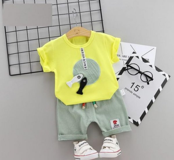 Yellow Boys 2 Pc Set