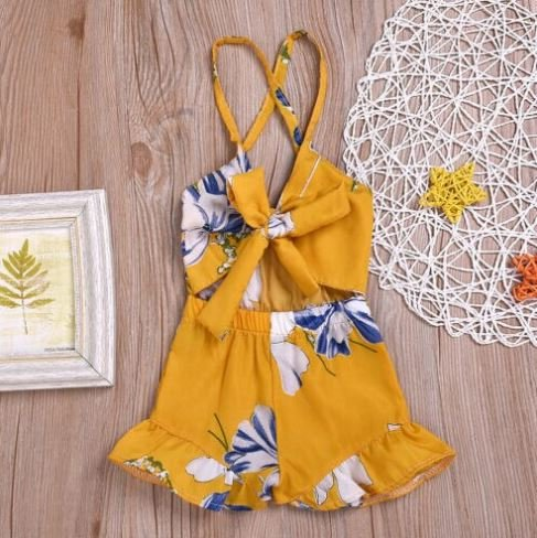 Yellow Playsuit